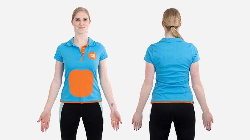 spieren V-pass fitnessbal