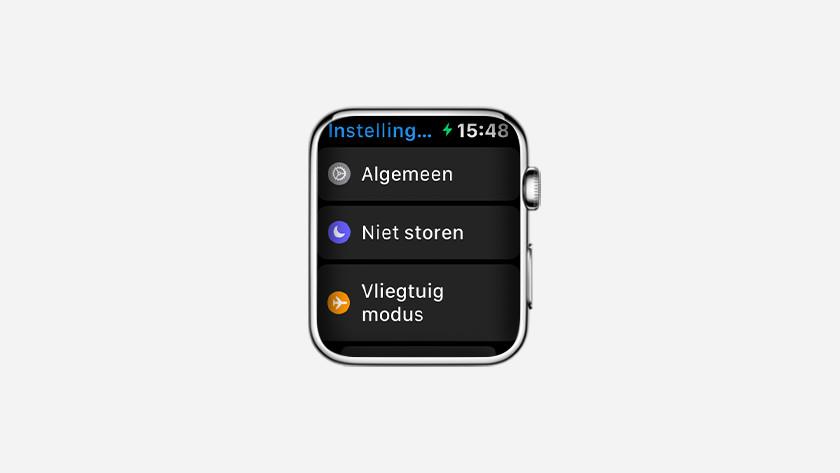 Ga naar de 'Instellingen'-app op Apple Watch