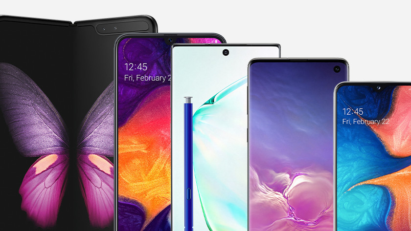 Samsung smartphones 2019