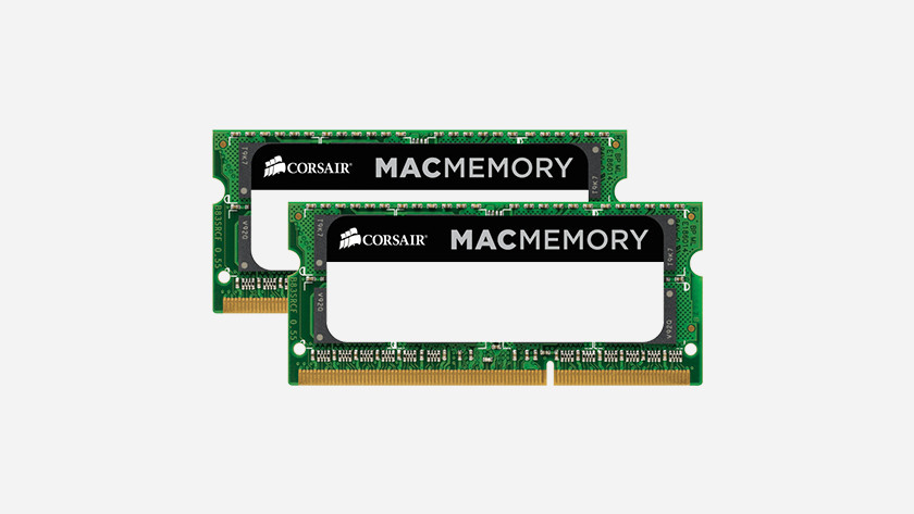 Corsair RAM modules voor Apple
