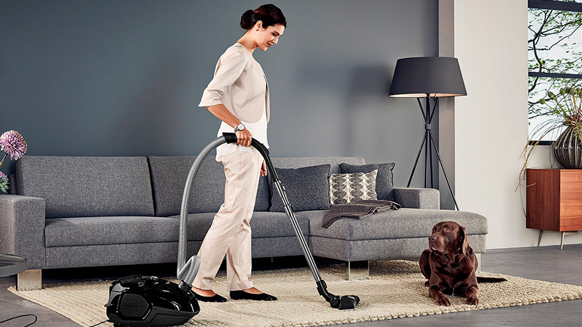 Allergies and vacuum cleaning