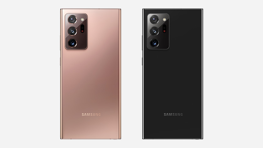 Samsung Note 20 Ultra opslag