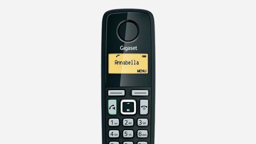 Edit contacts landline phone Gigaset