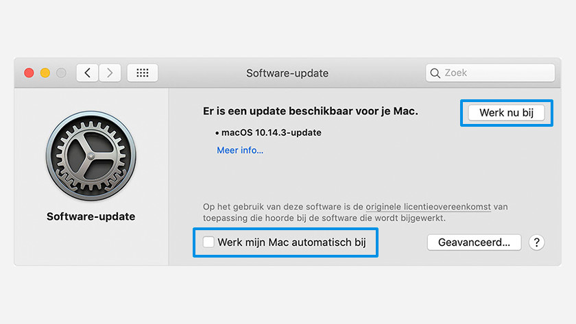 Apple MacOS handmatig updaten