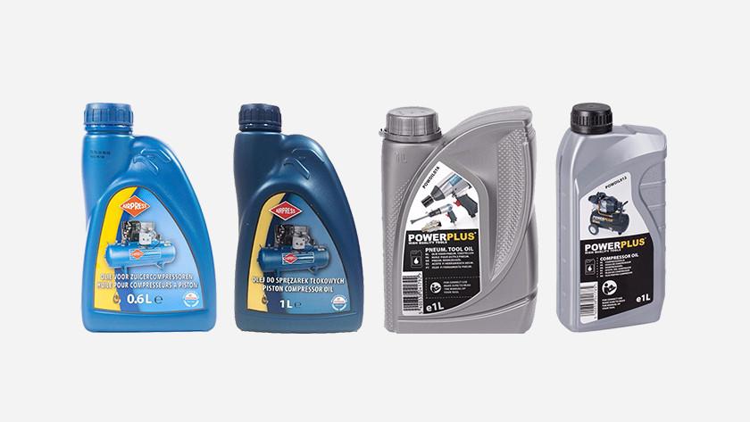 Olie voor compressors en luchtgereedschappen