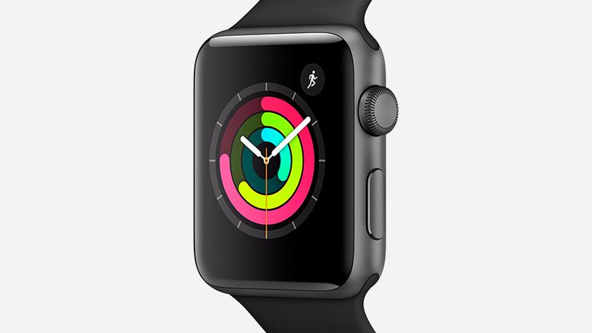 Inloggen Apple Watch