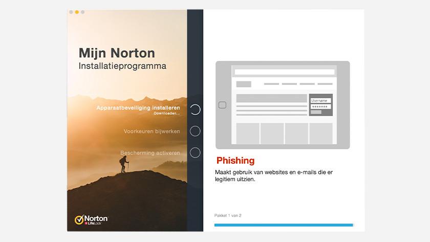 Norton installeren