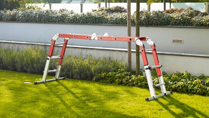 Ladder vrijstaand gebruiken