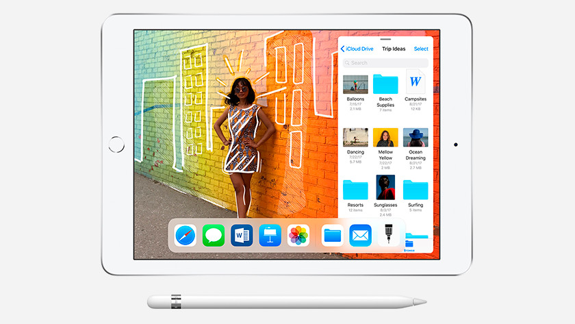 Apple iPad (2018) display