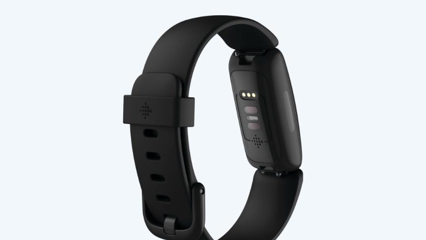 Fitbit Inspire 2 sensor achterkant