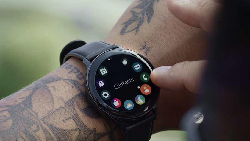 Touch rand samsung galaxy watch active2