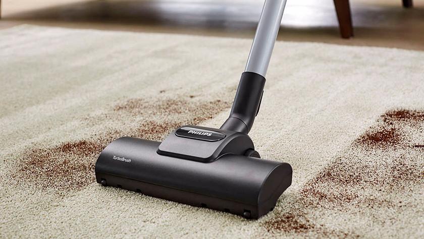 Type vloer en een stofzuiger