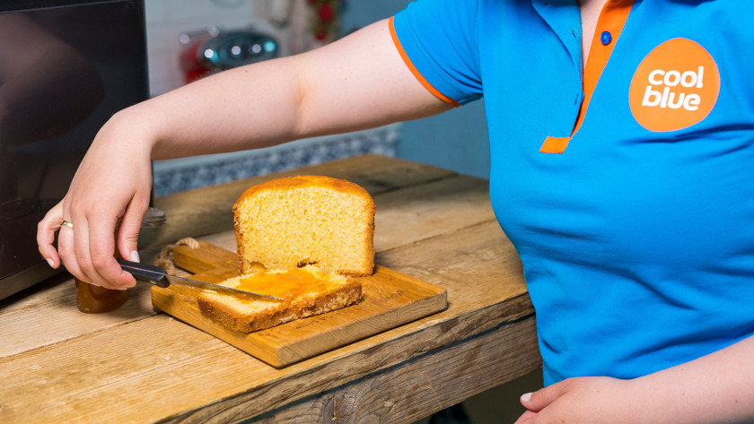 Jam en cake maken