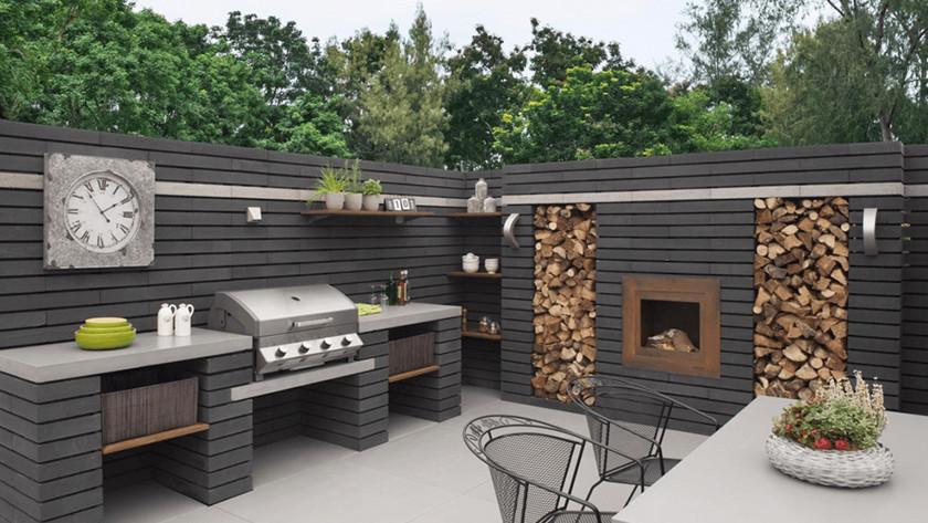 Inbouw barbecue