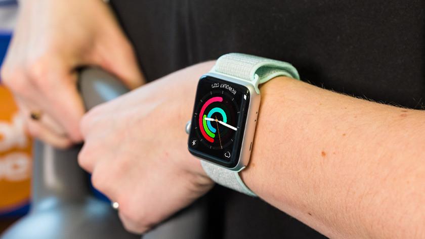 Apple Watch Nylon Sport Loop Nike horlogeband