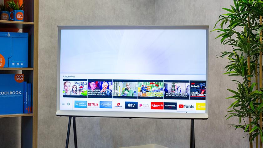 Samsung Tizen Smart Hub menu