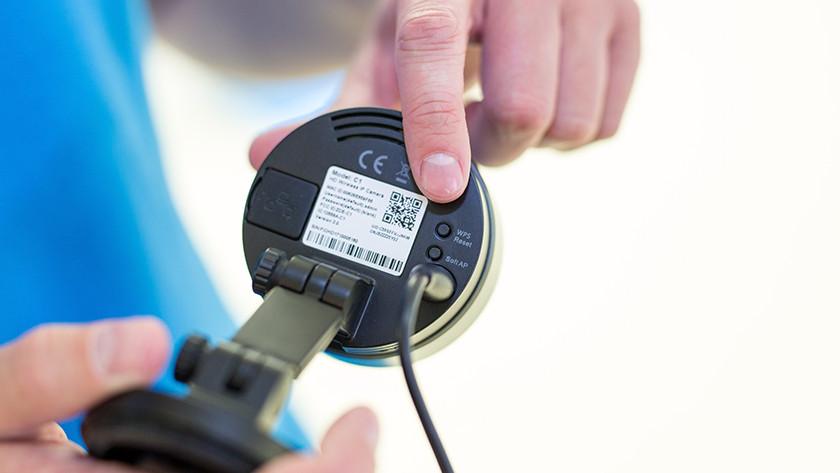 Resetting Foscam camera