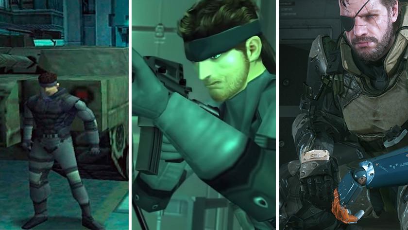 De evolutie van Solid Snake