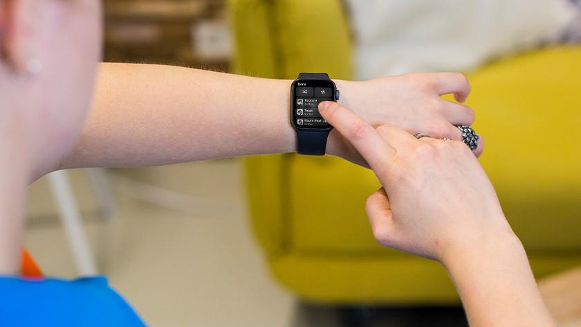 Apple Watch opslagcapaciteit gebruik