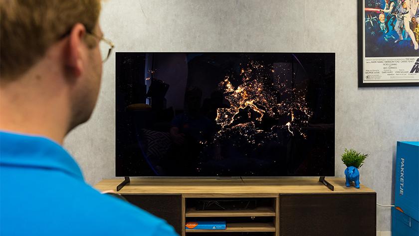 Contrast en zwartwaarden van de LG GX OLED tv