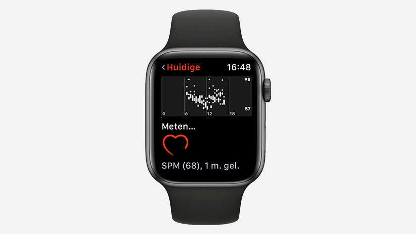 Apple Watch Series 3 optical heart rate sensor
