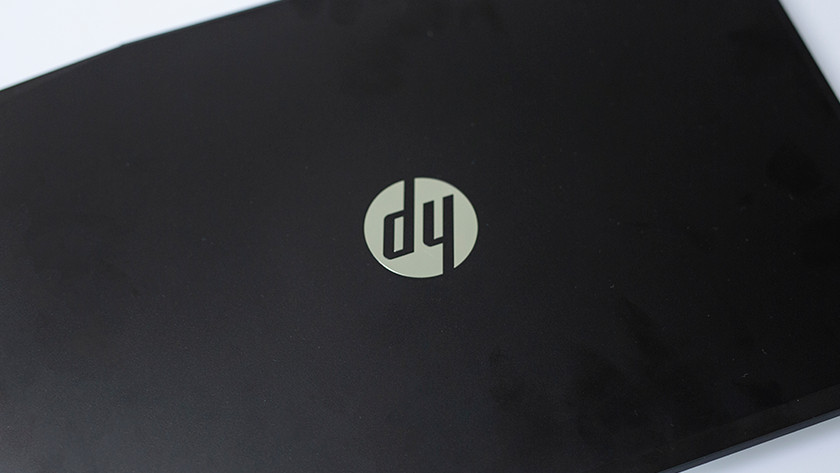 HP laptop top.