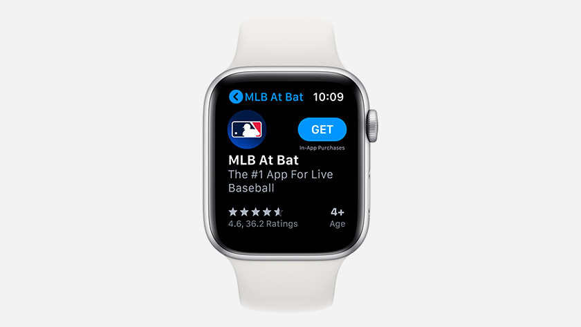App Store op Apple Watch