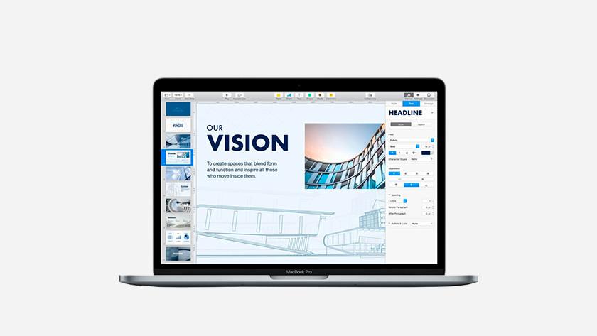 Apple MacBook Pro 13 inches screen