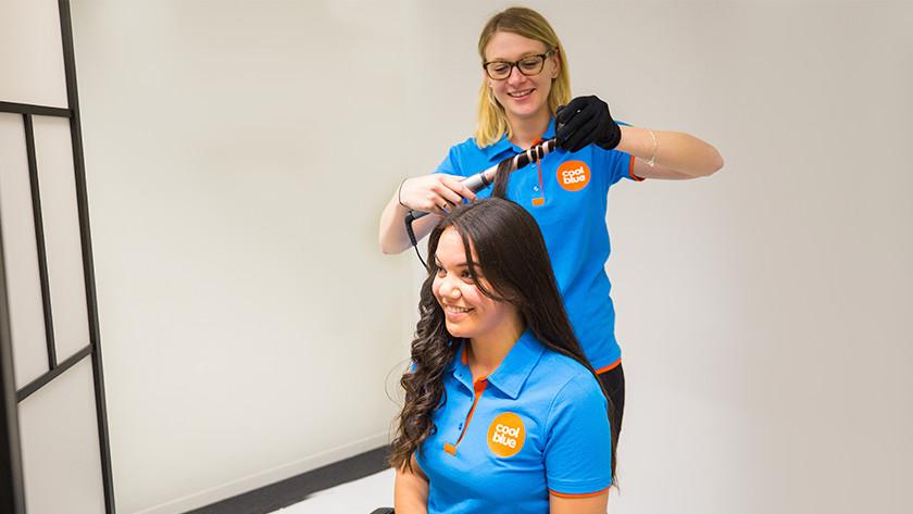 Krullen in lang haar