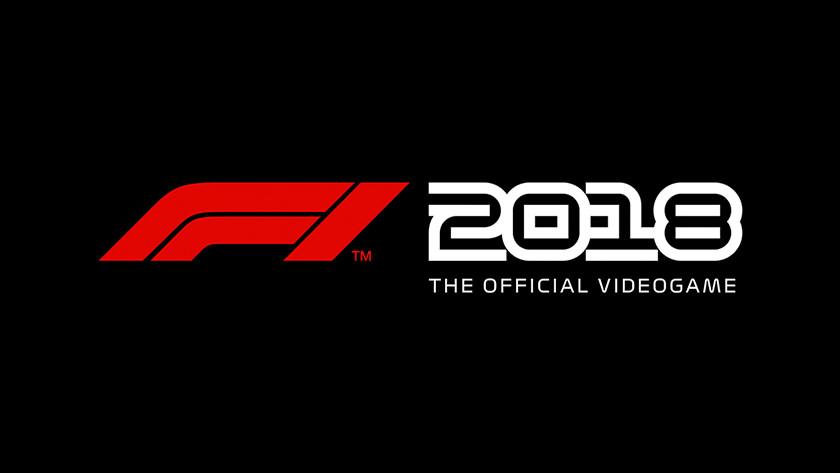 F1 2018 game logo