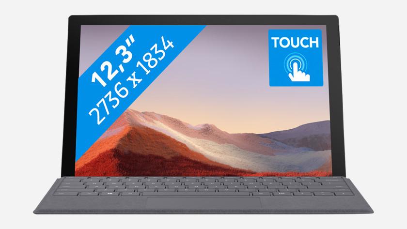 Microsoft Surface Pro 7 Laptop.