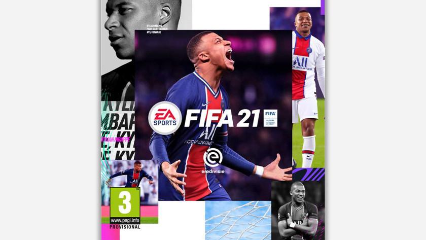 FIFA 21 standard edition.