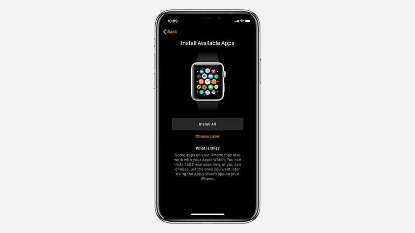 Functies Apple Watch