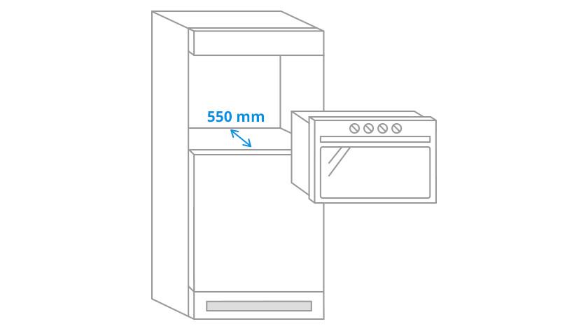 Niche depth microwaves
