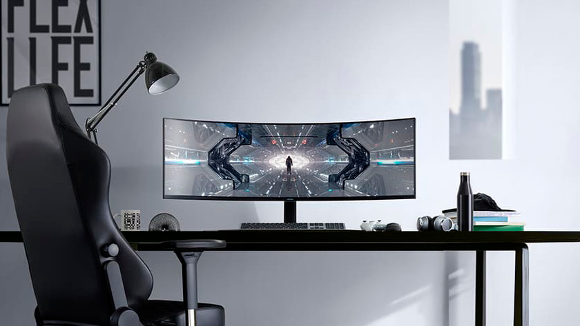 Samsung Odyssey gaming monitor