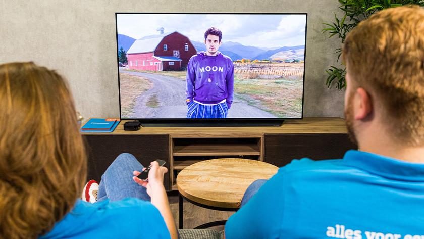 Stream jouw media naar Apple TV