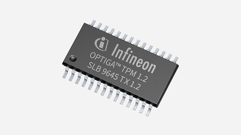 TPM chip.
