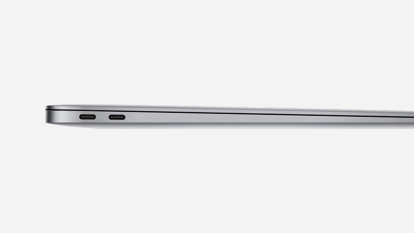 "Apple MacBook Air 13"" aansluitingen"