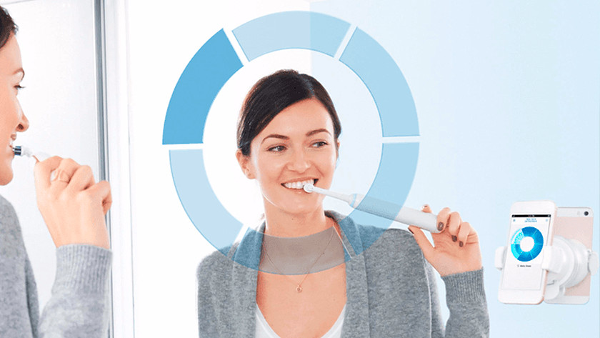 The extra functions of a rotating toothbrush