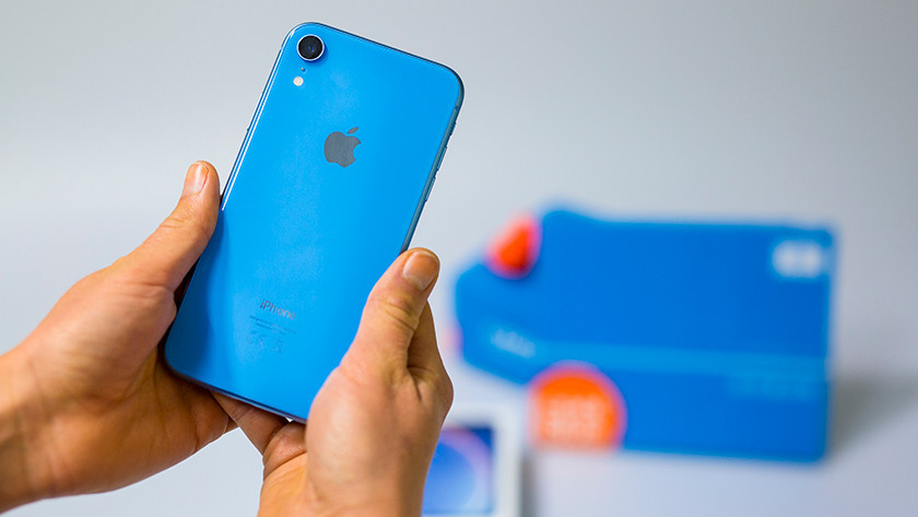 Apple iPhone Xr Geel