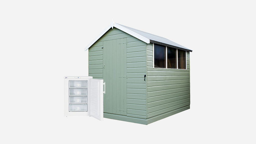 Freezer for your shed