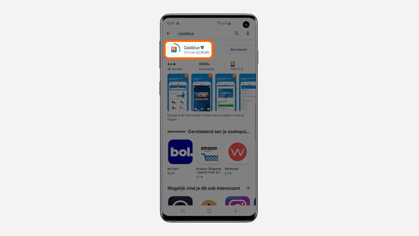Android apps installeren