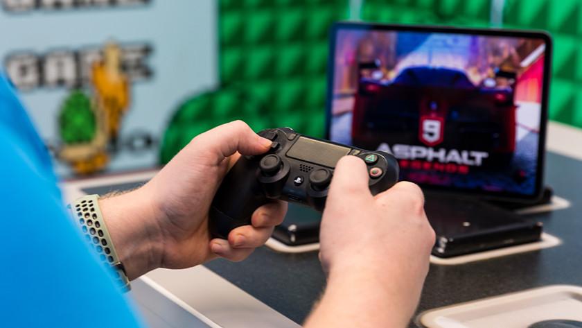 PlayStation 4 controller op iPad