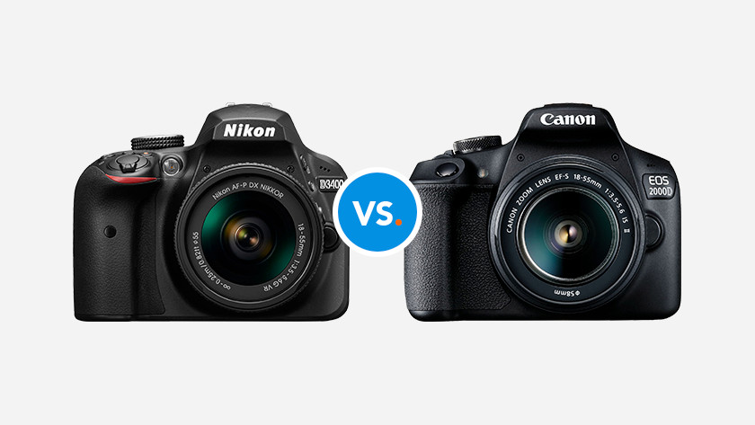 Compare Canon with Nikon