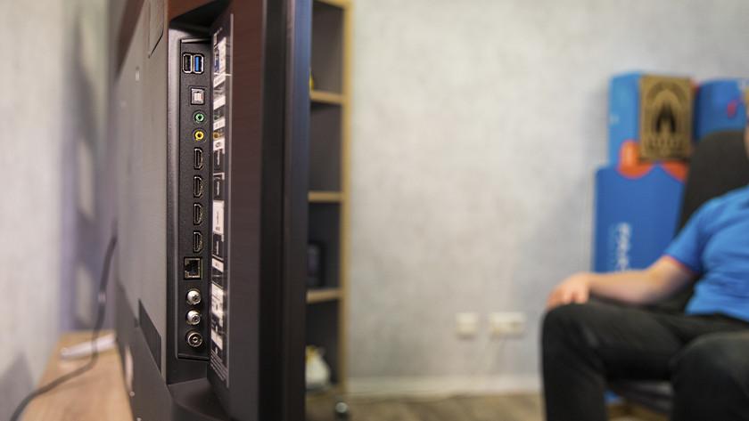 Aansluitingen van een televisie