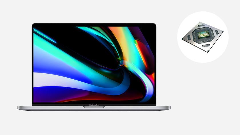 Apple MacBook Pro 16 inch videokaart