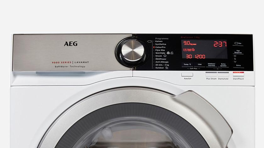 AEG SoftWater display wasmachine