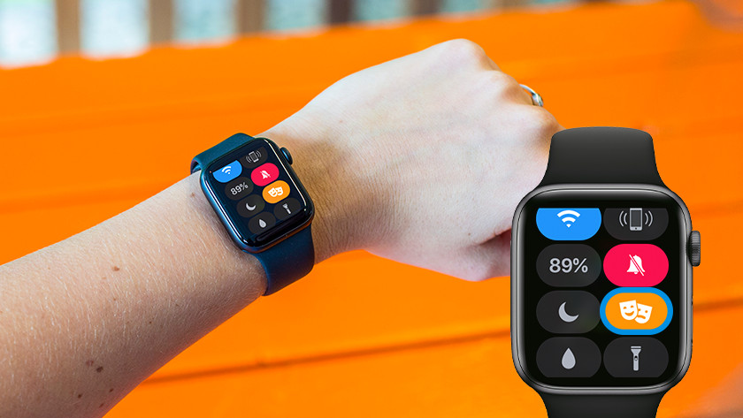 Apple Watch in 'Theater' modus