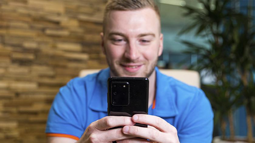 Android smartphone vinden