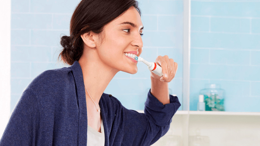 The user-friendliness of a rotating toothbrush